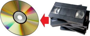 оцифровка кассет VHS